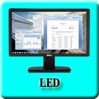 Dell LED Monitor /
