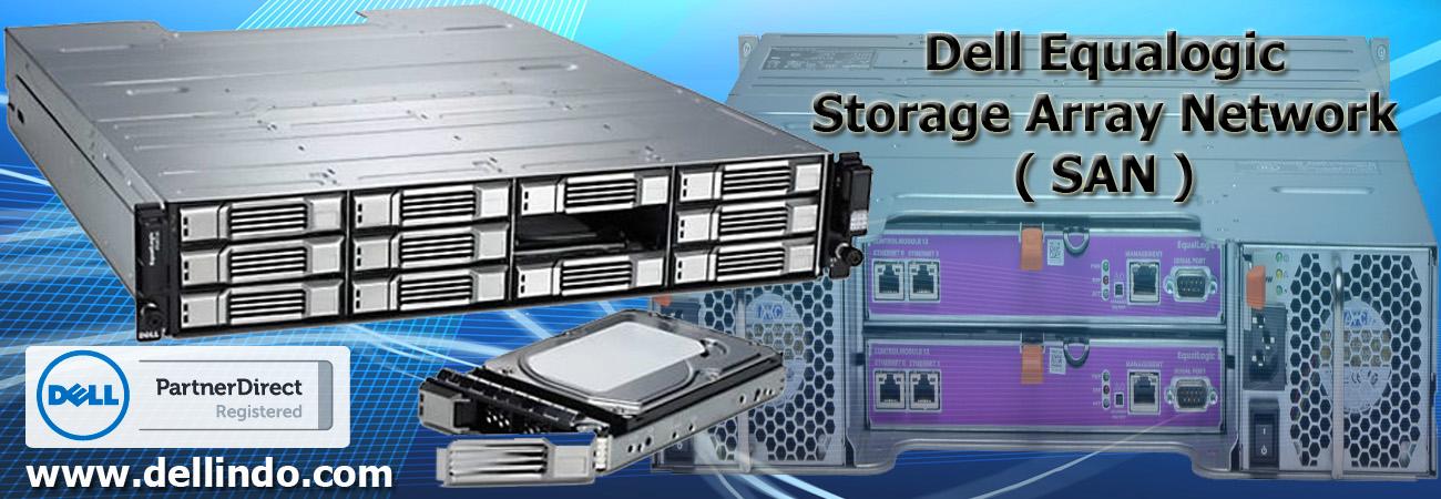 Dell Storage Equalogic, Dell Poweredge, dell indonesia