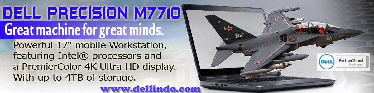 Dell Precision M7710, dell indonesia, noframe