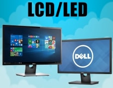 Monitor, LCD, LED Dell