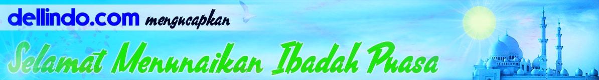 Dellindo Mengucapkan Marhaban Ya Ramadhan, noframe