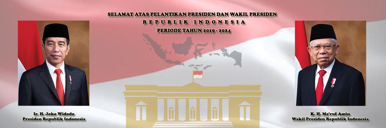 Selamat Atas Pelantikan Presiden dan Wakil Presiden Republik Indonesia