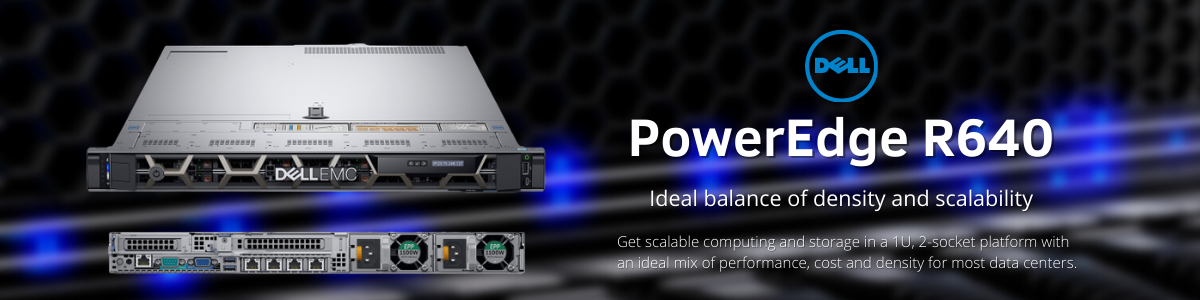 Dell PowerEdge, Dell Rackmount, dell indonesia, noframe, R640